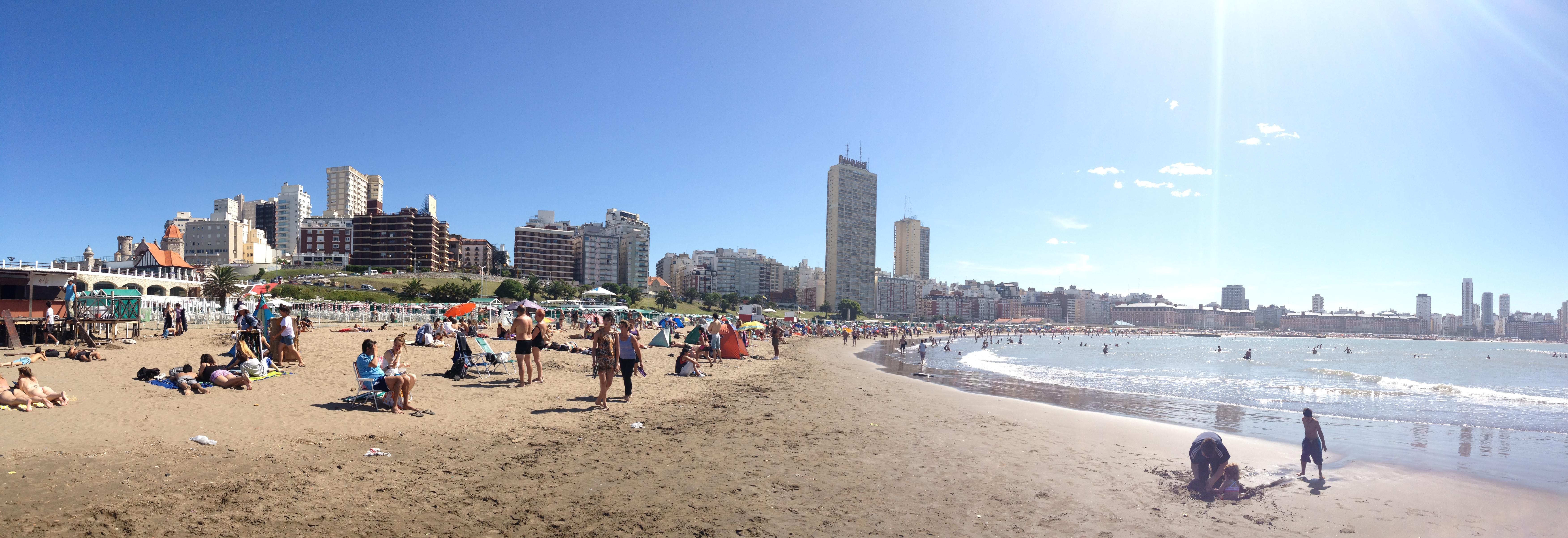 Mar Del Plata Argentina Sweat With Sandra